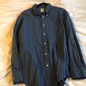 Brooks Brothers XL plaid button down